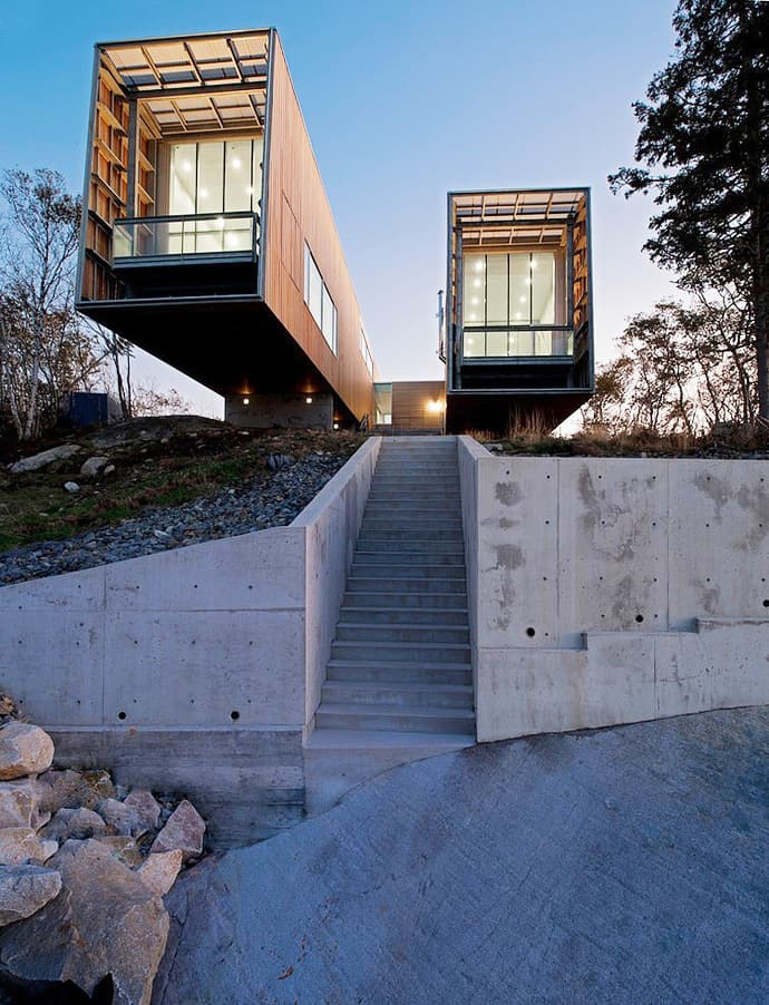Two Hull House By Mackay Lyons Sweetapple Architects