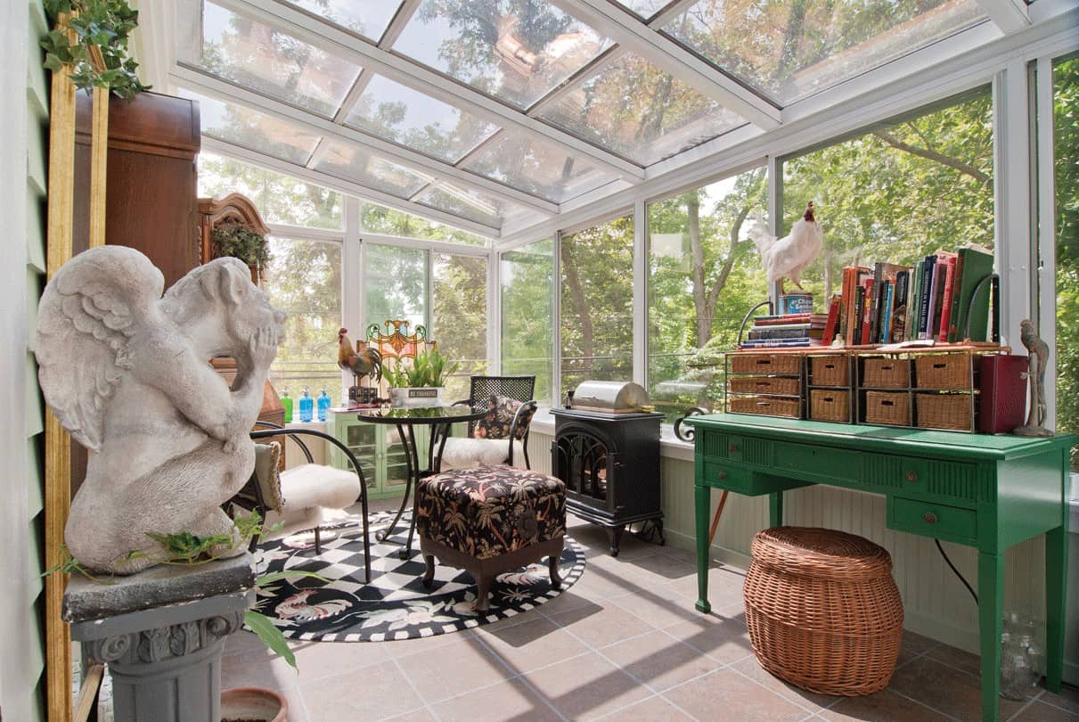 The best interior design ideas for your conservatory for Casa meubles de jardin