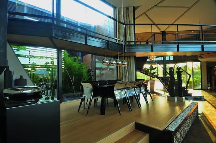 Biệt thự hiện đại được vật chất hóa ở nơi hoang dã - Nhà Tsi của kiến trúc sư Nico van der Meulen (12)