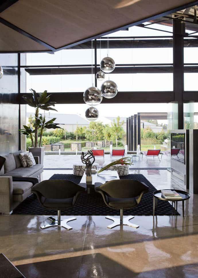 Ngôi nhà hiện đại được vật chất hóa trong vùng hoang dã - House Tsi (16)