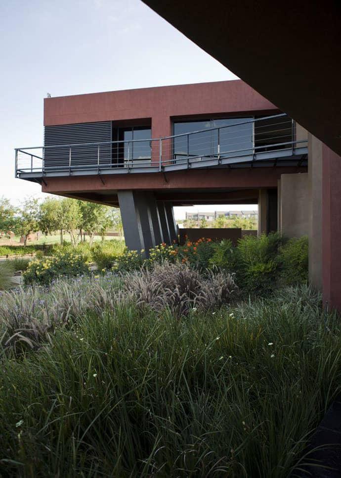 Ngôi nhà hiện đại được vật chất hóa ở nơi hoang dã - Ngôi nhà Tsi của kiến trúc sư Nico van der Meulen (6)