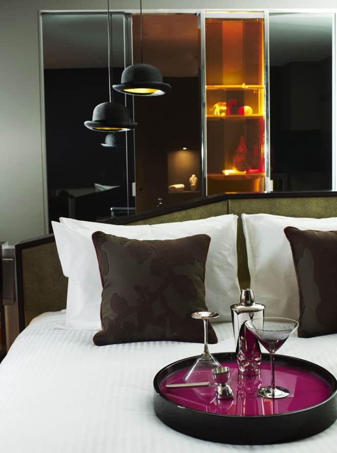 Cozy and Eclectic Interior Design: QT Sydney Hotel by Woodhead, Sydney, Australia