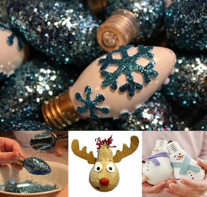 Light Bulb Christmas Ornaments.Turn Light Bulbs Into Christmas Ornaments Learn How To