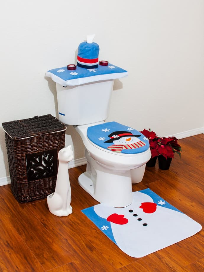 Especially For Kids Amazing Christmas Bathroom Decoration Ideas