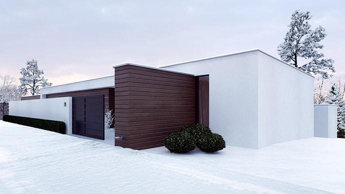 Minimalist Holiday House By Line Architects Moldova