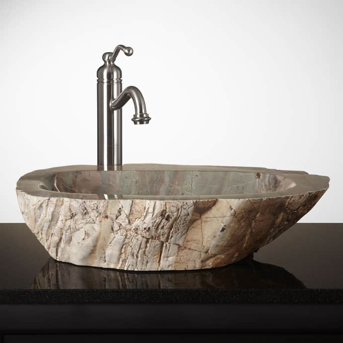 stone bowl sinks bathroom 15 unique bathroom sinks 20687