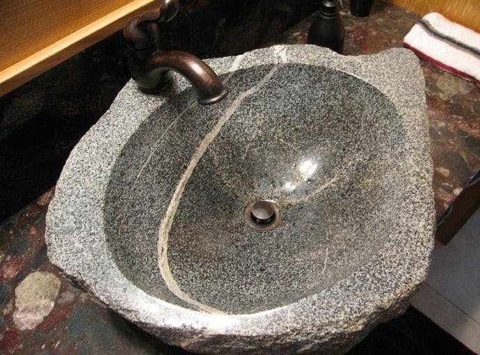 15 Unique Bathroom Natural Stone Sinks