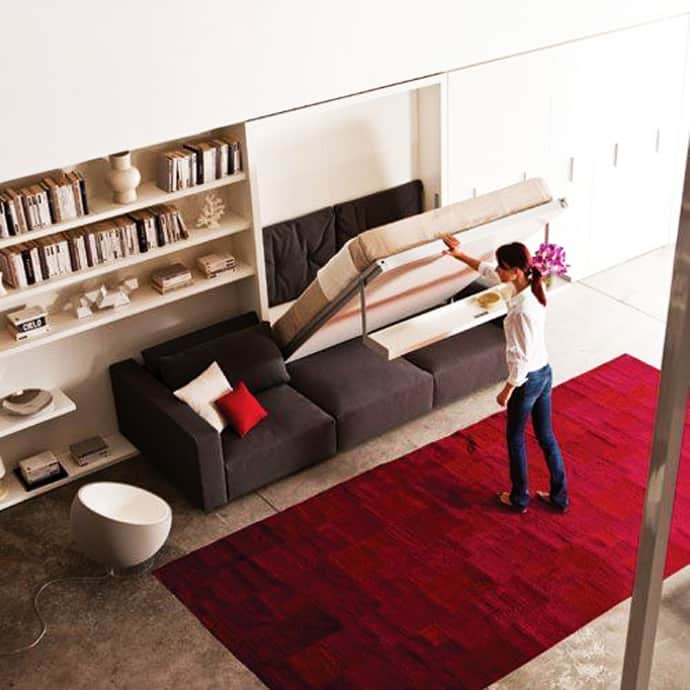 Amazing Beds: 15 Cool Murphy Beds For Decorating Smaller Rooms