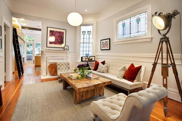 Stunning victorian house renovation in san francisco for Interior designs victorian style home furnishings