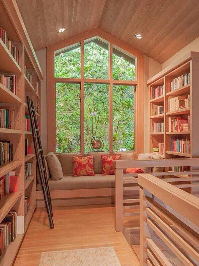 Cool Home Library: 40 Ideas Of How To Organize A Library At Home