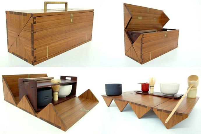 ... tea box designrulz (11) & Portable Tea Box for Japanese Tea Ceremony by StudioGorm Aboutintivar.Com