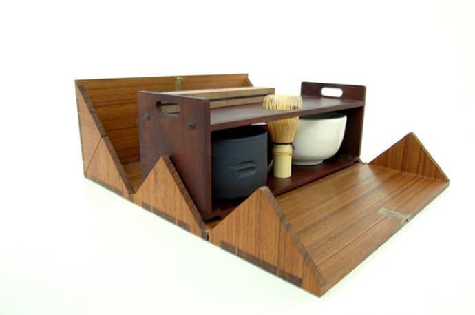 ... tea box designrulz (5) ...  sc 1 st  DesignRulz & Portable Tea Box for Japanese Tea Ceremony by StudioGorm Aboutintivar.Com