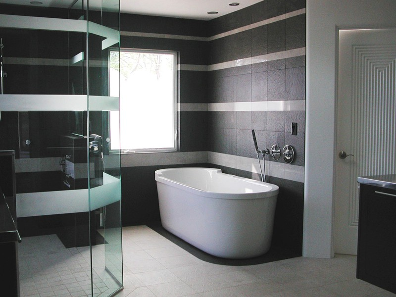 Ten of the Best Modern Black Bathrooms designrulz (5)
