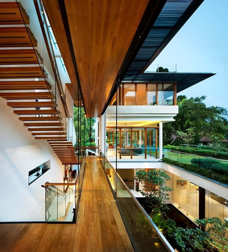 Spectacular Contemporary Residence In Singapore The Sun House