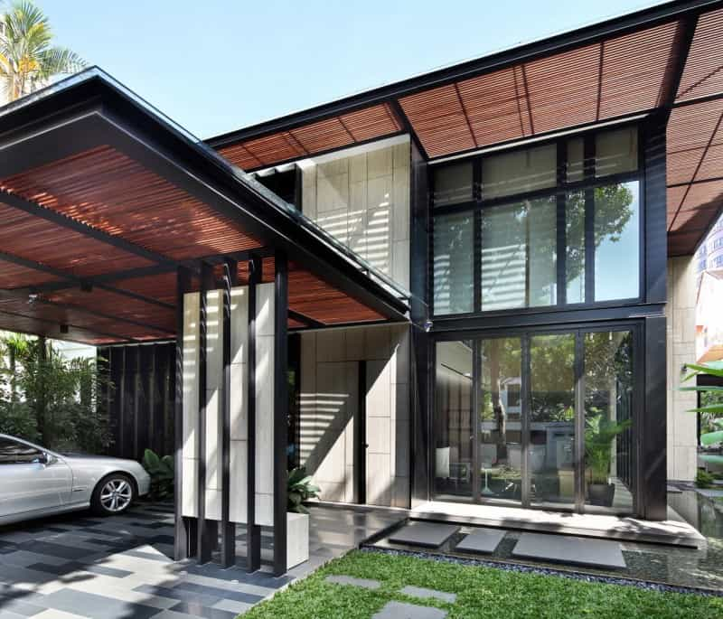 Contemporary Modern House By Ong Amp Ong