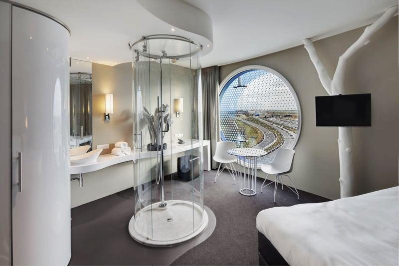 A New Futuristic Designer Hotel Fletcher Hotel Amsterdam
