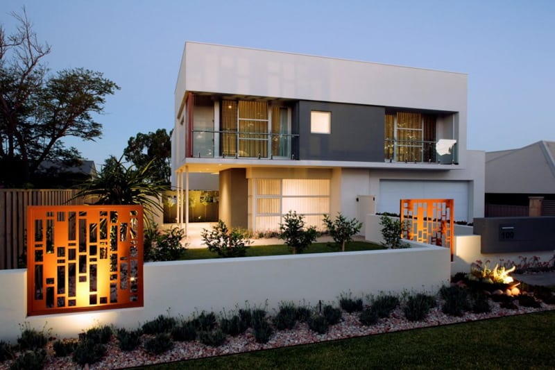 Modern house by mick rule perth australia for Beach house designs western australia