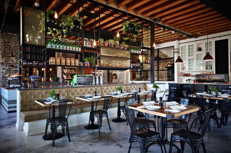 The grounds of alexandria a coffee house with an amazing - Estanterias metalicas para casa ...