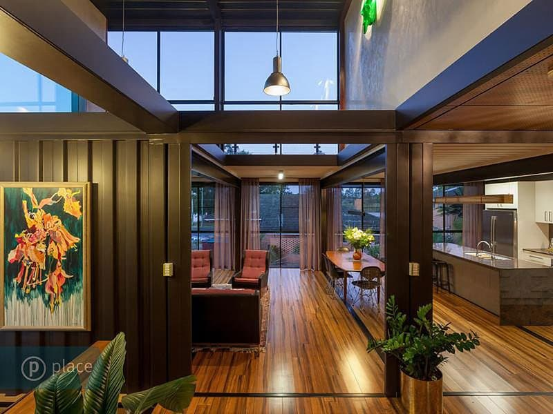 31 shipping container home by zieglerbuild queensland australia