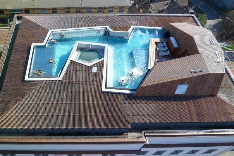 B2 boutique hotel and spa by althammer hochuli architekten for Design hotel zurich