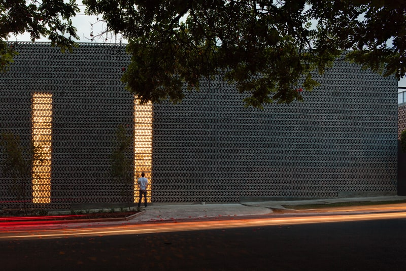 Brick And Concrete Facade