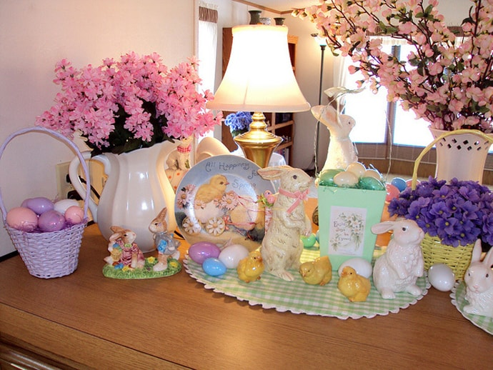 2011 Easter decorations