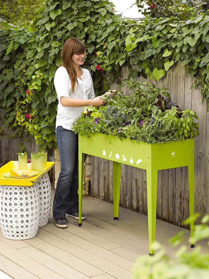 Garden Tables Help You To Grow Veggies Herbs And Flowers