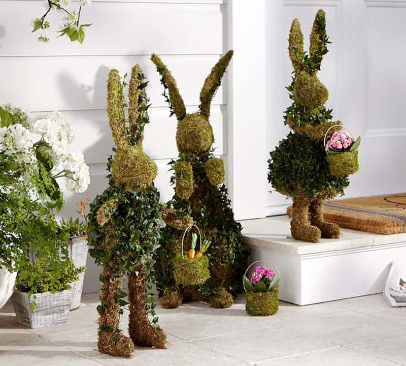 20 Outdoor- Indoor Green Easter Decorations