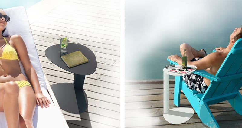 Versatile Design For Small Spaces Bink Mobile Media Table From BDI - Bink mobile media table