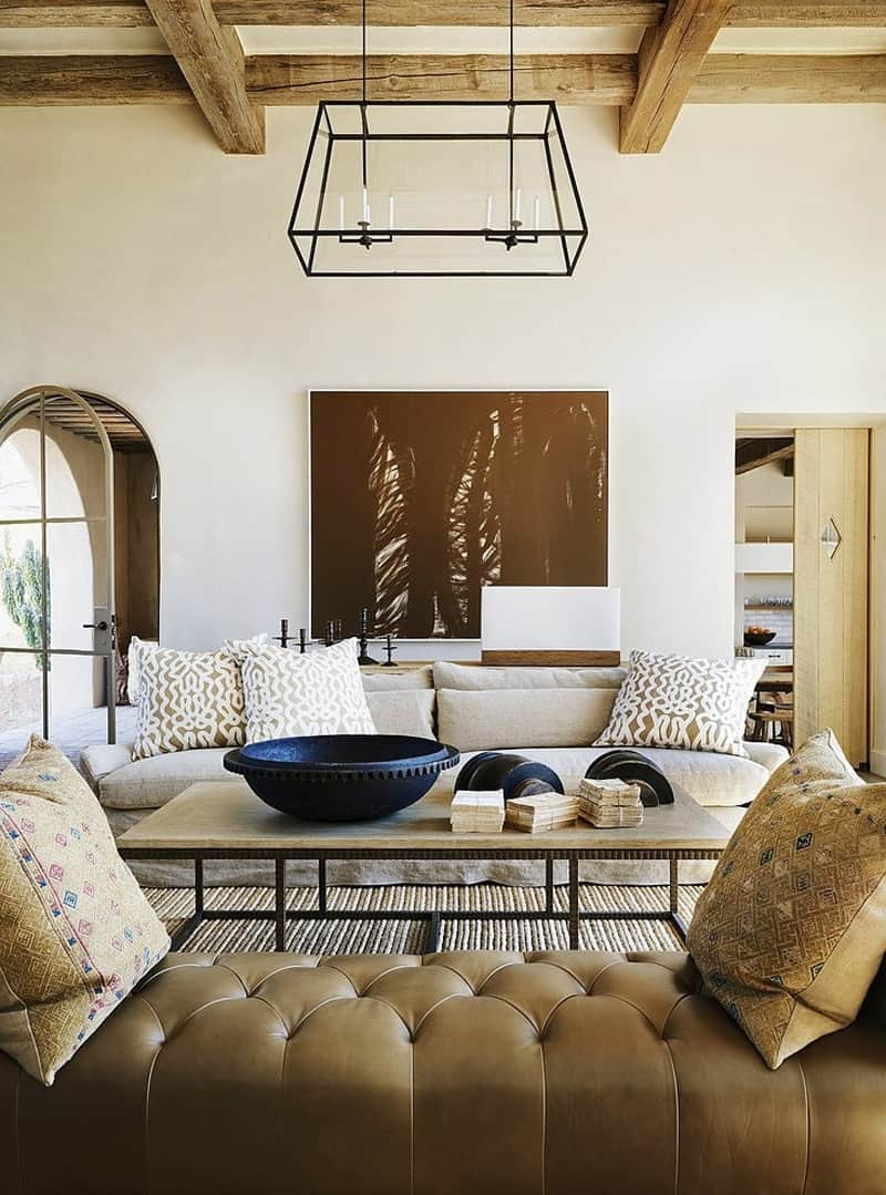 Rustic Eclectic Farmhouse In Sonoran Desert Arizona