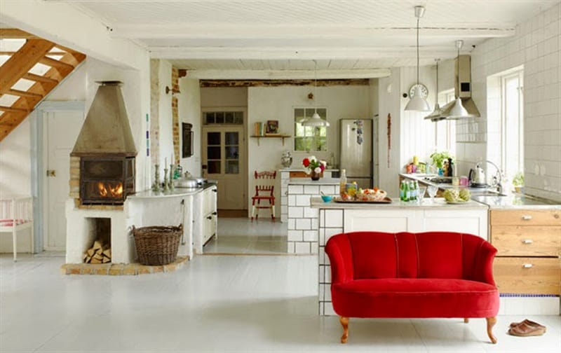 Dreamy Atmosphere In A Swedish Country House Osterlen