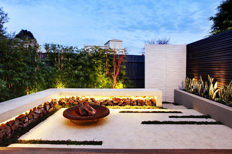 Contemporary Backyard Design By Signature Landscapes