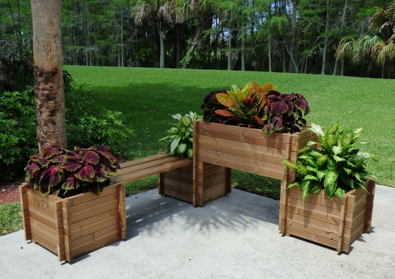 15 Smart Space Saving Furniture And Flower Planters For