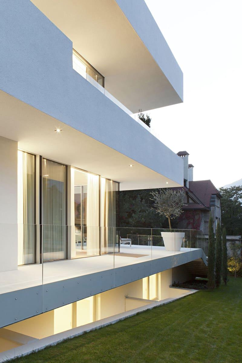 Sumptuous Modern Dwelling: House M, Meran, Italy