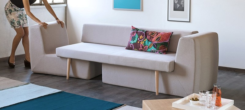 3 In 1 Modular Sofa Sofista Perfect For Convertible