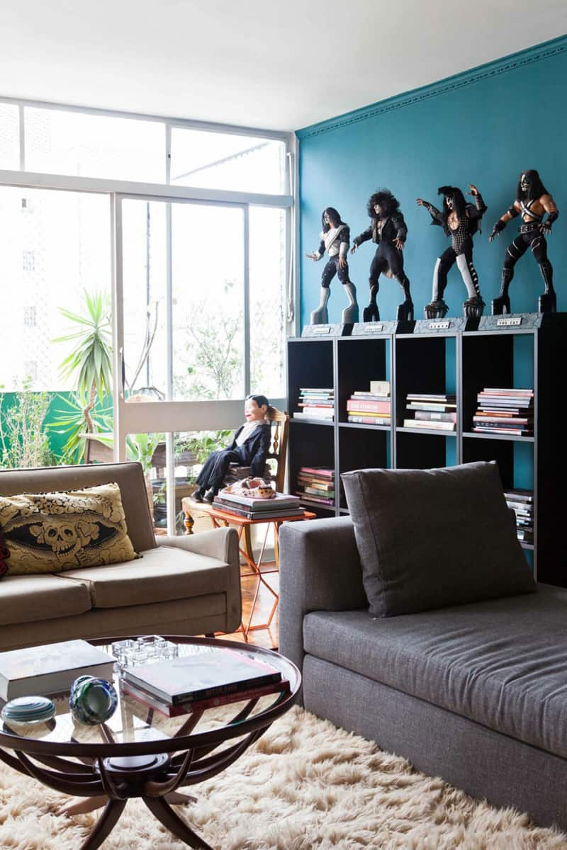 Color And Inspiration In A Small Brazilian Apartment
