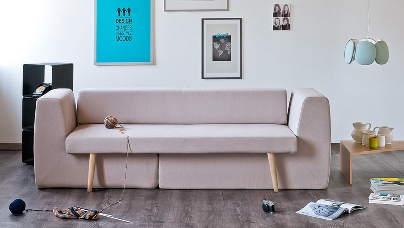 3 in 1 Modular Sofa: Sofista - Perfect for Convertible Living Rooms