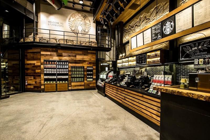 The First Starbucks Reserve Store Downtown Disney Orlando Florida