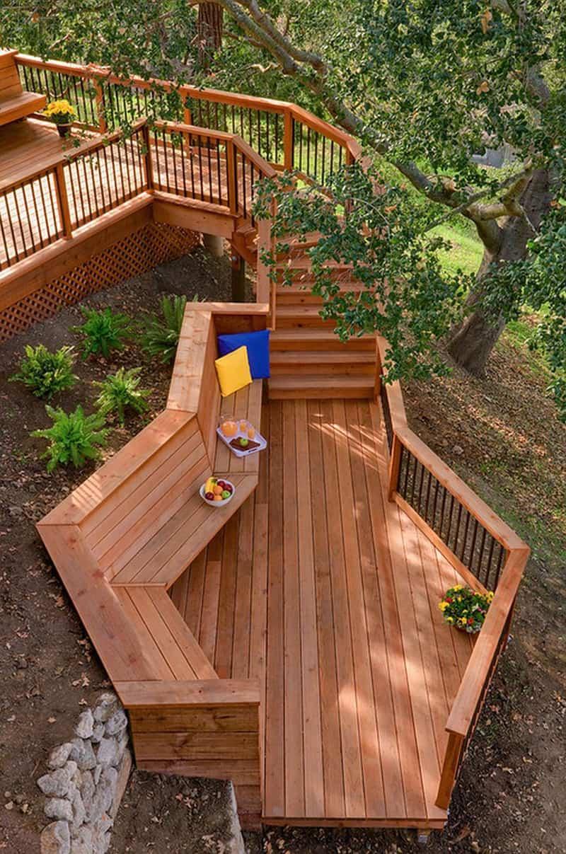 wooden bench designrulz (33)