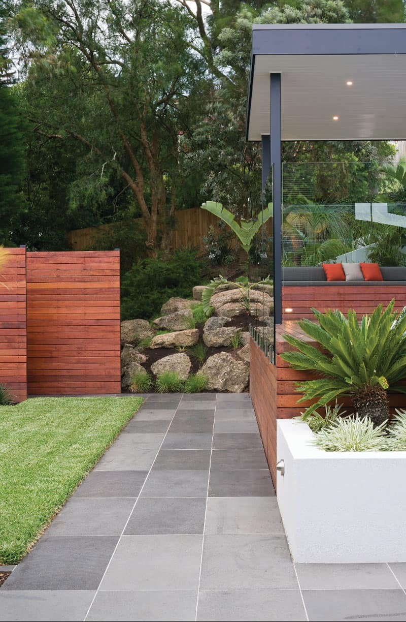 An Urban Garden Helps You Escape From The Jungle - Amazing outdoor design by apex landscapes