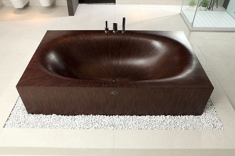 Elegant-wooden-Laguna-bathtubs