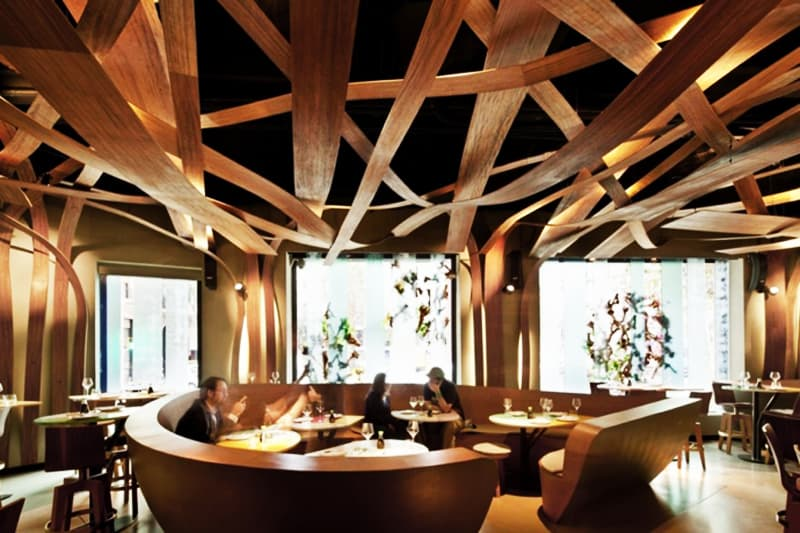 top 5 restaurant interior designs with wooden walls insertions rh designrulz com  wooden restaurant interior design
