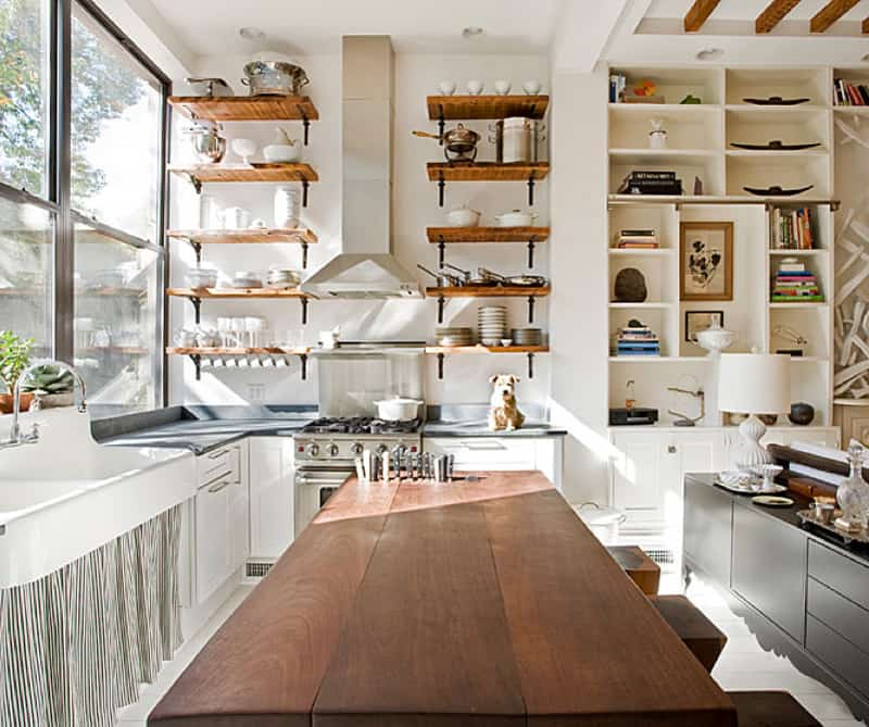 Marvelous Open Kitchen Shelving Designrulz (1)