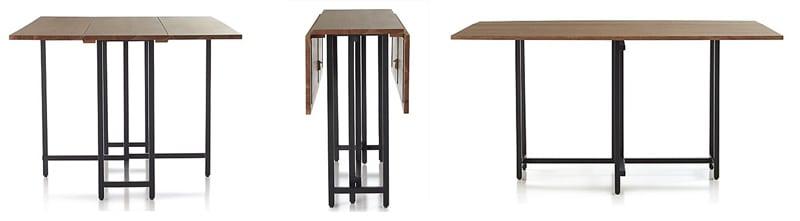Origami Drop Leaf Dining Table designrulz (1)