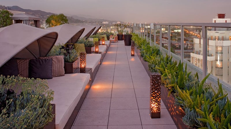 Napa Valley Hotels >> Andaz West Hollywood A Hotel At Sunset Boulevard, California