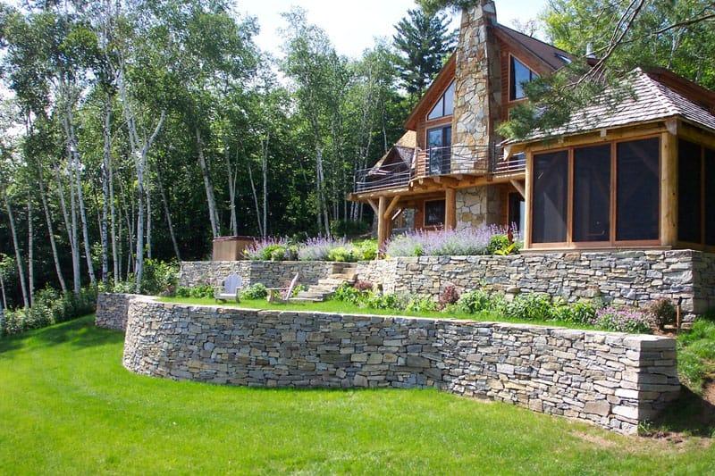 How To Turn A Steep Backyard Into A Terraced Garden on Terraced Backyard Landscaping Design id=22266