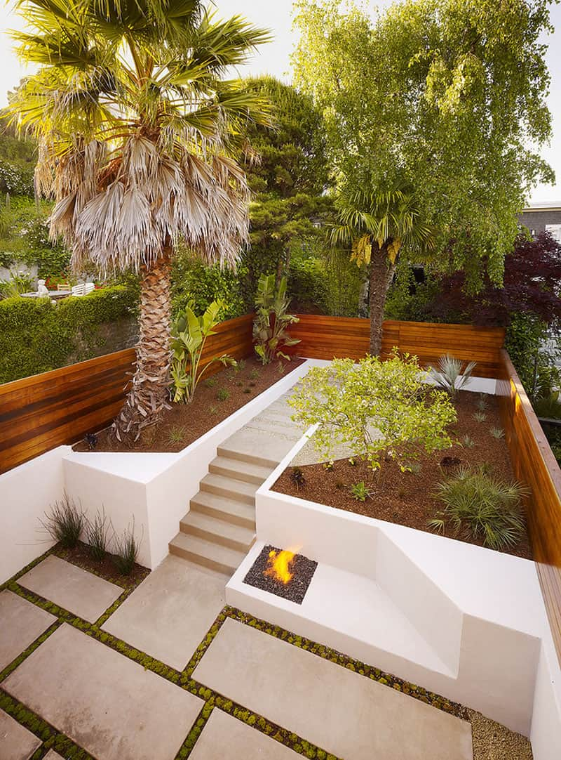 How To Turn A Steep Backyard Into A Terraced Garden on Long Backyard Landscaping Ideas id=12991