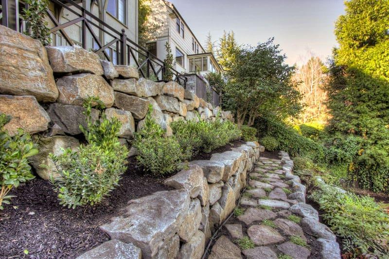 How To Turn A Steep Backyard Into A Terraced Garden on Terraced Backyard Landscaping Design id=20018