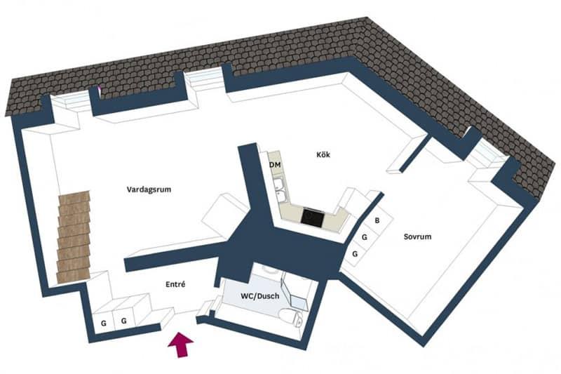 2 Attic-Apartment-Gothenburg-designrulz (9)