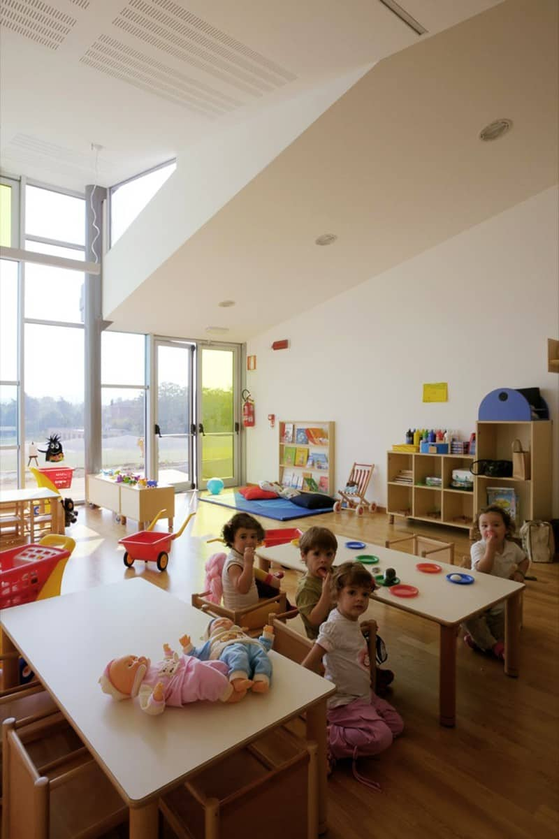 Modern Kindergarten Classroom Furniture ~ Top amazing modern kindergartens where your children